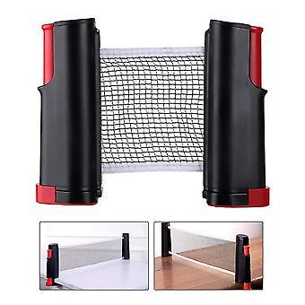 Draagbare intrekbare Ping Pong Net Rack