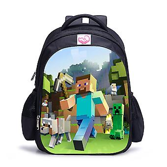Minecraft waterproof children's backpack