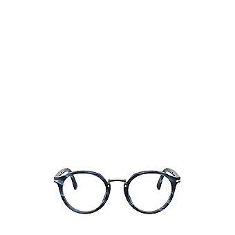 Persol PO3185V randig blå & gunmetal unisex glasögon