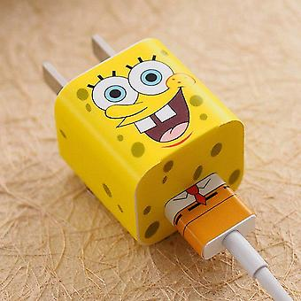 Autocollants Spongebob Iphone Charger