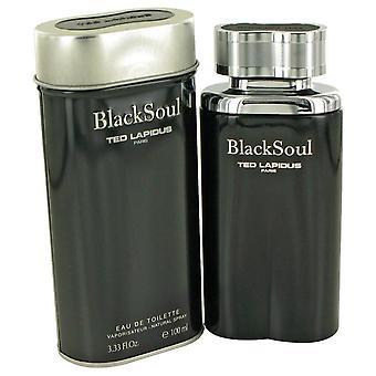 Black Soul Eau De Toilette Spray By Ted Lapidus 3.4 oz Eau De Toilette Spray