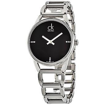 Calvin Klein K3G2312S Quartz Black Dial Ladies Watch