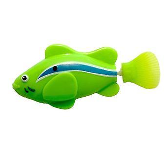 Mini Bionic Fishing Toy, Electric Swimming Magical Fish Underwater, World Deep