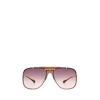 Gucci GG0739S guld kvindelige solbriller