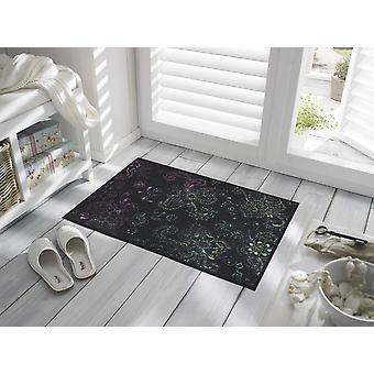 wash+dry designer mat Mehndi 50 x 75 cm capacho lavável