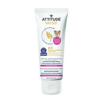Peau Sensible BÉBÉ 2in1 Shampooing et gel nettoyant - NEA 200 ml of gel