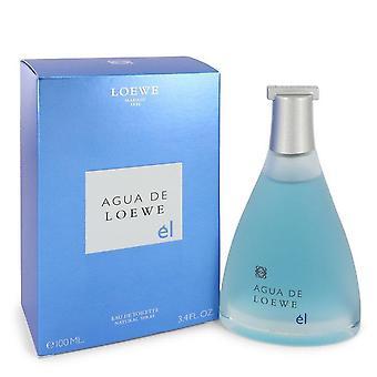 Agua De Loewe El Eau De Toilette Spray By Loewe 3.4 oz Eau De Toilette Spray