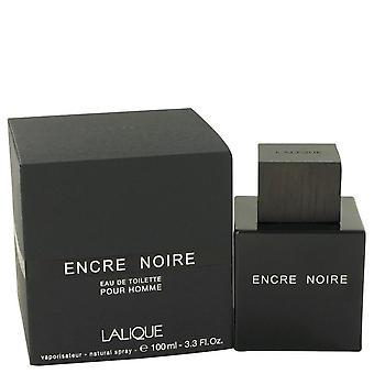 Encre Noire Eau De Toilette Spray por Lalique 3.4 oz Eau De Toilette vaporizador