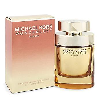 Michael Kors Wonderlust Sublime Eau De Parfum Spray By Michael Kors 3.4 oz Eau De Parfum Spray