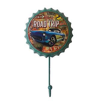 Retro Metal Tin Signs, Bar/pub/cafe/garage Wall Decals Hanger Hook