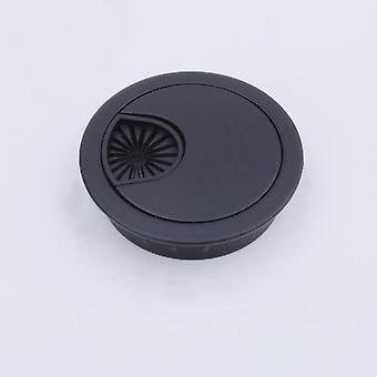 Wire Hole Cover Base Computer Grommet Cable Outlet Port Surface Box & Furniture