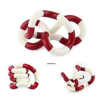 Roller Twist Fidget, Anti Stress Adult Brain Relax Simple Dimple Child Rope
