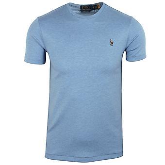 Ralph lauren men's blue pima t-shirt