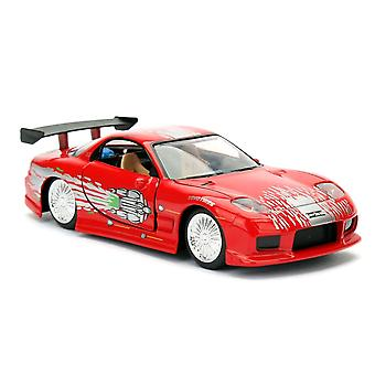 Fast and Furious Dom's Mazda RX-7 1:32 Scale Hollywood Ride