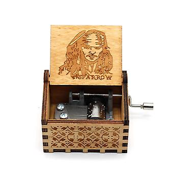 Anonymity  Wooden Hand-crafted Music Box