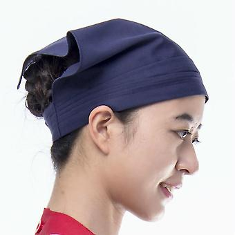 Waiter Waitress Kitchen Restaurant Canteen Bakery Work Cooking Cap, Chef Hat