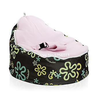 Braune Basis verschiedene Farben Convertible Baby Sitzsack Stuhl