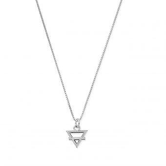 ChloBo Sterling Silver Delicate Box Chain Earth Necklace SNDB3104