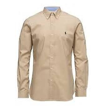 Ralph Lauren Shirt Men's Cotton Dusty Tan
