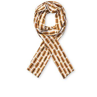 Masai Clothing Inca Gold Patterned Along Scarf