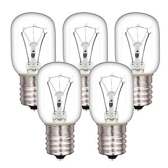 5x E17 Mikrowellen-Glühbirne 8206232A GMH3204XVS3 GMH5205XVB1 125V 40W