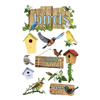 Paper House Productions - 3D Stickers - Birds