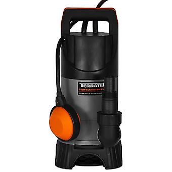 Terratek Pro 400W Submersible Water Pump, Suitable for Pumping Dirty Water
