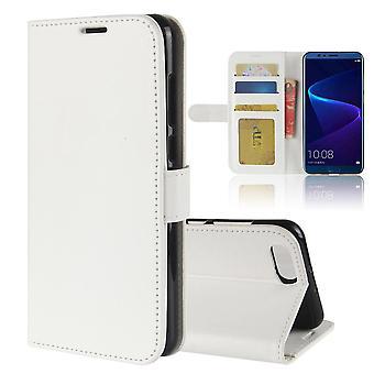حقيبة جلدية أنيقة مغناطيسية للشرف v10 - Blanc