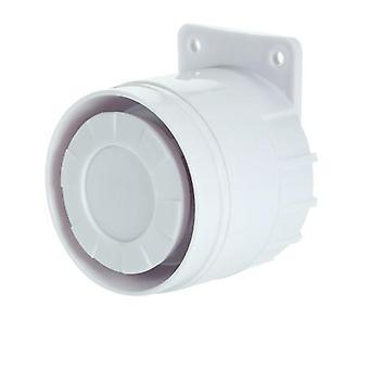 Ulkoinen mini langallinen sireeni 110 dB hälytin kodin langattomalle turvahälytysjärjestelmälle 433MHz
