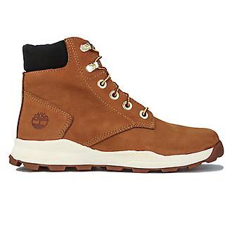 Boy's Timberland Junior Brooklyn Sneaker støvel i brun