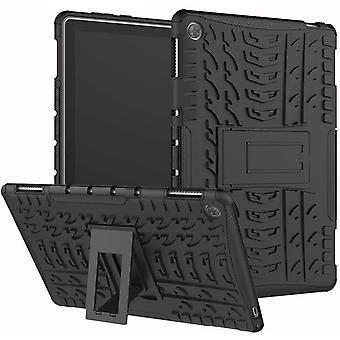 "FengChun Hülle Kompatibel mit Huawei MediaPad M5 Lite 10(10.1"") Handyhülle Schutzhülle PC + Silikon"