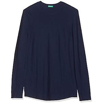 United Colors of Benetton 3HI6J15I8 T-shirt, Blue (Navy Blue 252), XX-Large Men
