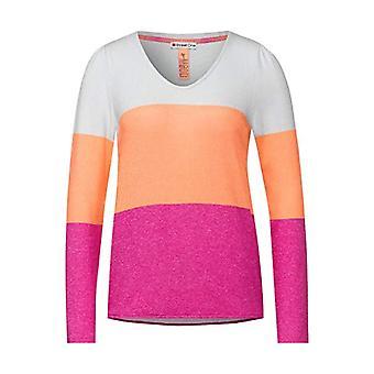 Street One 315841 T-Shirt, Strong Mandarin Melange, 42 Woman