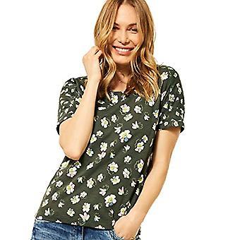 Cecil 316253 T-Shirt, Utility Olive, XXL Woman