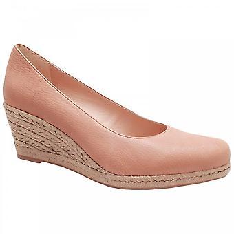 Pedro Anton Low Wedge Close Toe Shoes