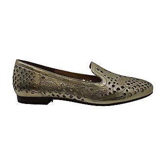 naturalizer Eve Cutout Square Toe Loafers, Light Gold, 7 W US