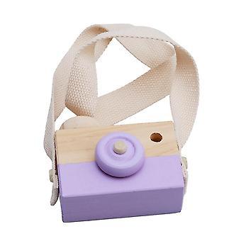 Kids Cute Mini Wood Camera Camera Photography Decoration Baby Clothing