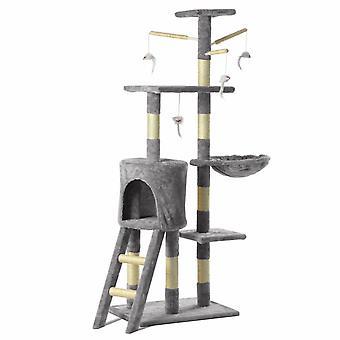 Cat Play Tower Bed 140cm meubels met krabpaal