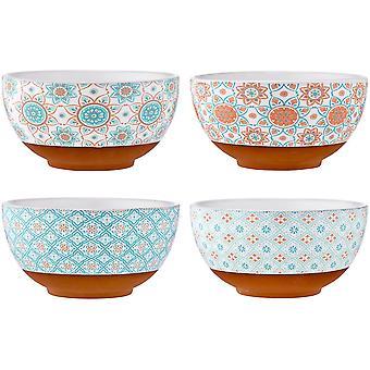 Ladelle Amore Capri Bowl Set of 4