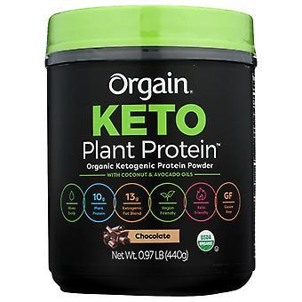 Orgain Chocolate Protein Powder, 0.97 lbs