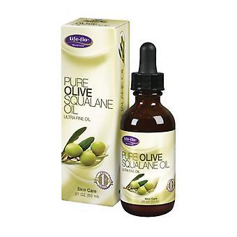 Life-Flo Pure Olive Squalane Oil, 2 oz