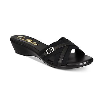 Callisto Womens Babcock Strappy Wedge Sandals