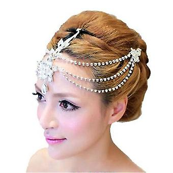 Morsius Fringe Häät Päähissi Crown Diamond Hair Band Korut