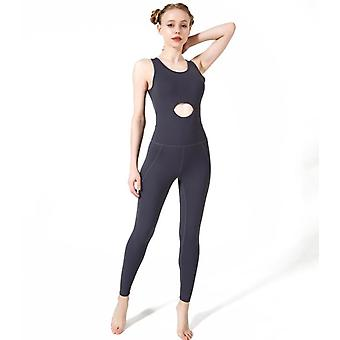 Beautiful Back Aerial Yoga Fitness Coveralls High Elastic și quick-uscare