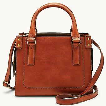 Fossil Claire Brown Læder Mini Taske Crossbody Bag SHB2070213