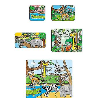 Puzzles For Kids Age Colorful Wooden Puzzles For Toddler Children Learning Educational(GROUP1)