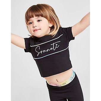 New Sonneti Girls' Micro Eden T-Shirt/Leggings Set  from JD Outlet Black