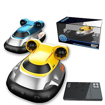 2.4G Wireless Mini Hovercraft Giocattolo Ragazzo Acqua Telecomando Elettrico Barca Motoscafo Barca A vela Modello Giocattoli all'aperto Regalo per i bambini