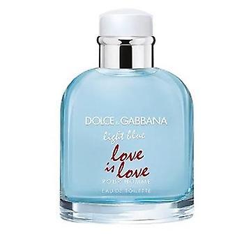 Dolce & gabbana blauwe liefde is love eau de toilette 75ml