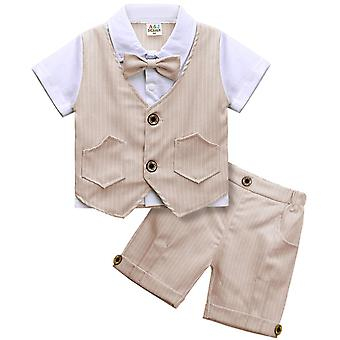 ملابس الطفل تعيين الرضع جنتلمان الزي الأعلى